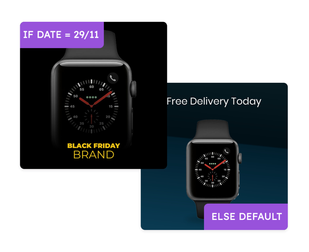 product feed - schedule watch